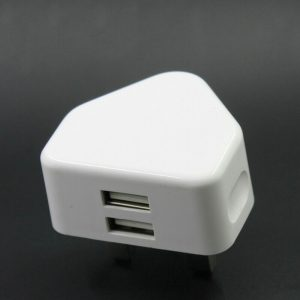 MAINS CHARGER PLUG  | DOUBLE USB | 2.1A FAST CHARGER